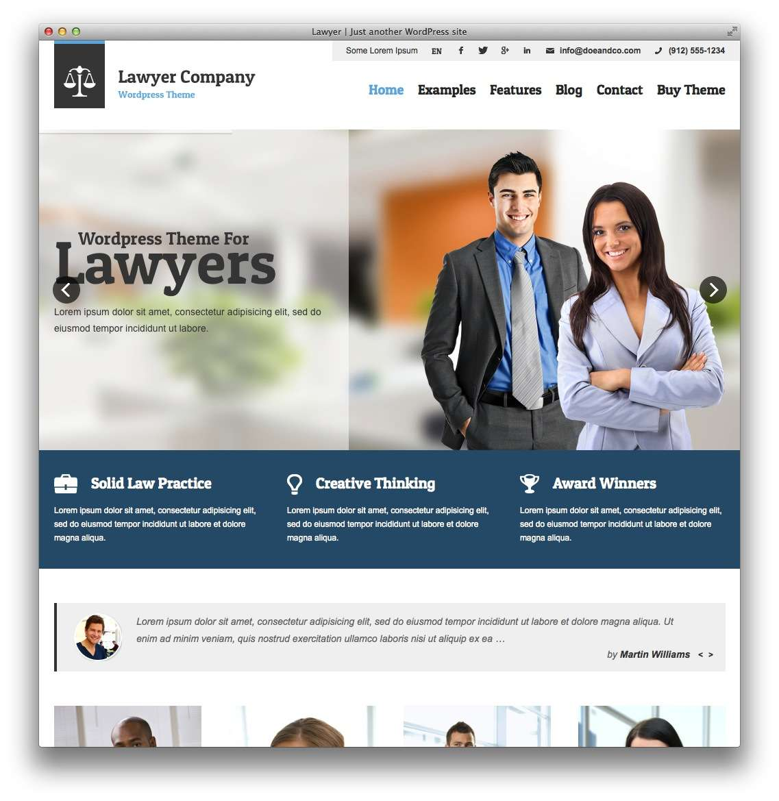 WordPress – Адвокаты и юридическая практика14