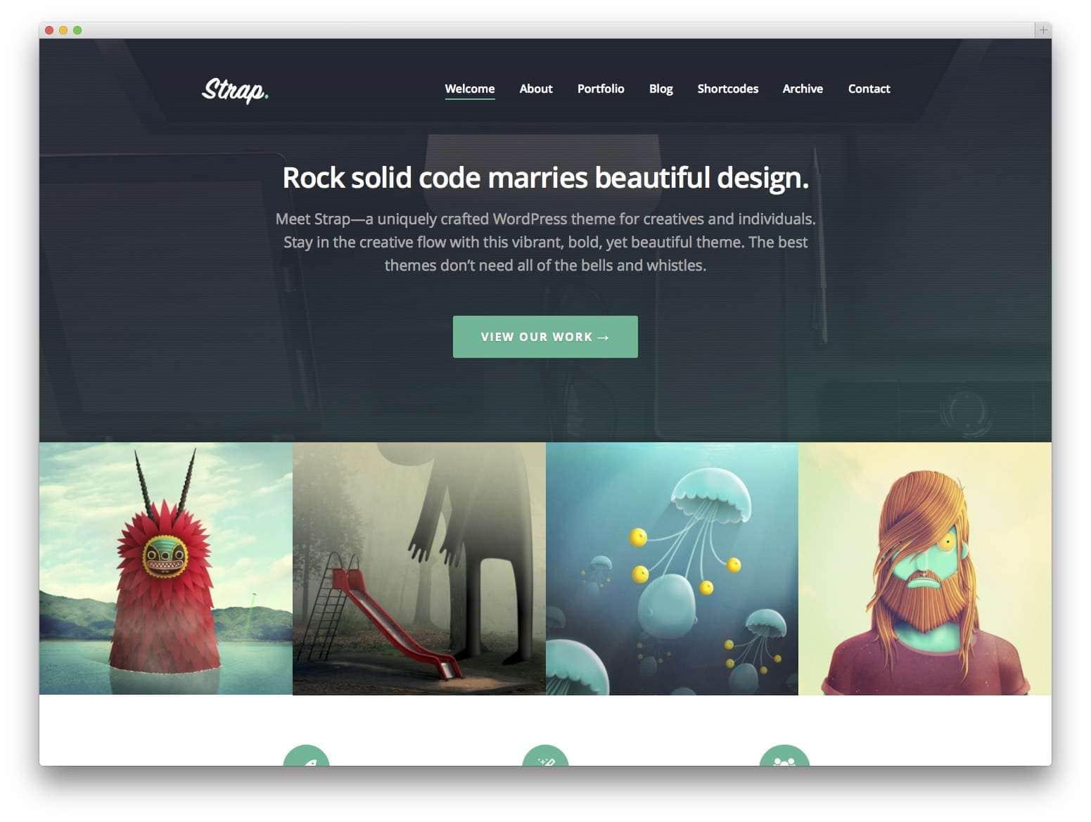 Шаблоны WordPress для портфолио 20152