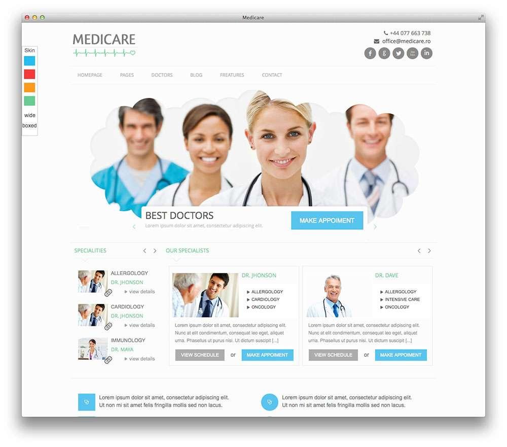 WordPress темы о здоровье 16