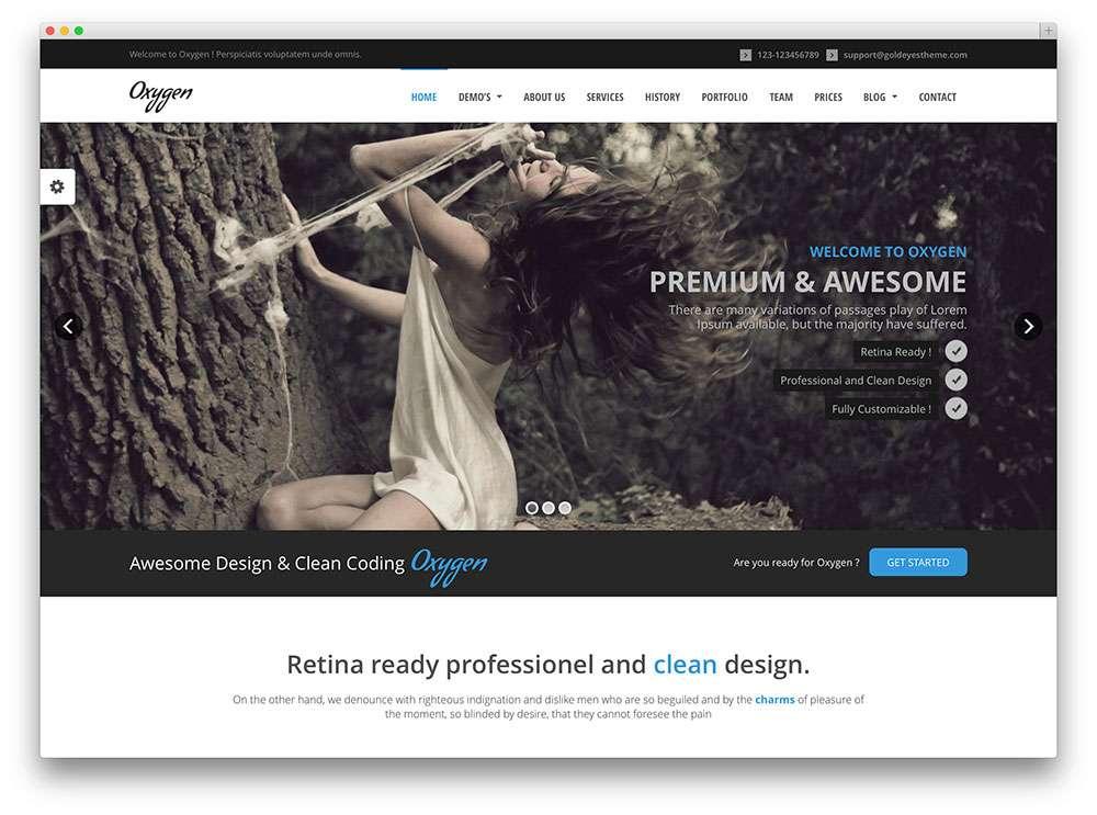 темы WordPress для дизайнеров 2015