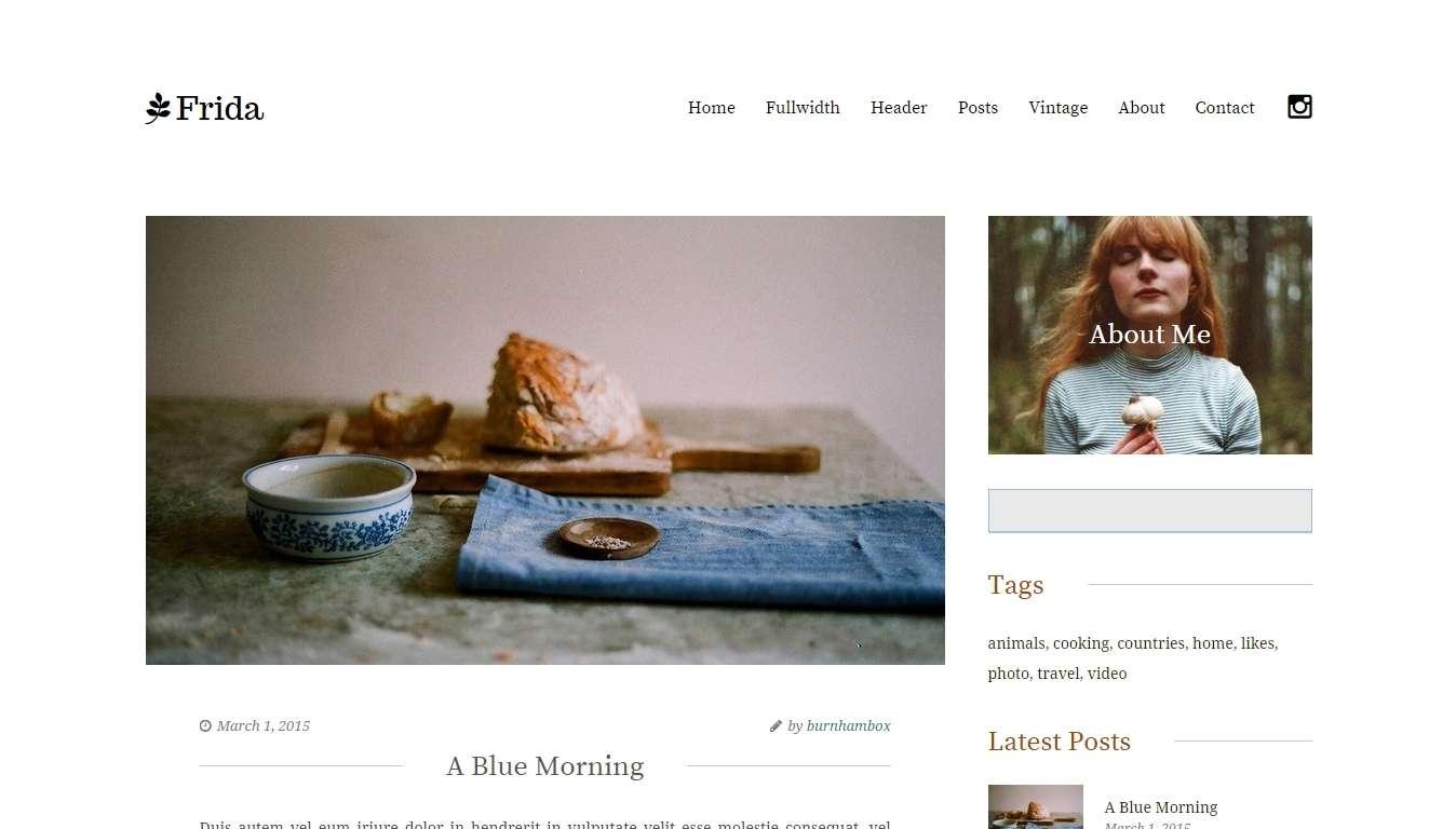 Русские темы Вордпресс для женского блога (10)