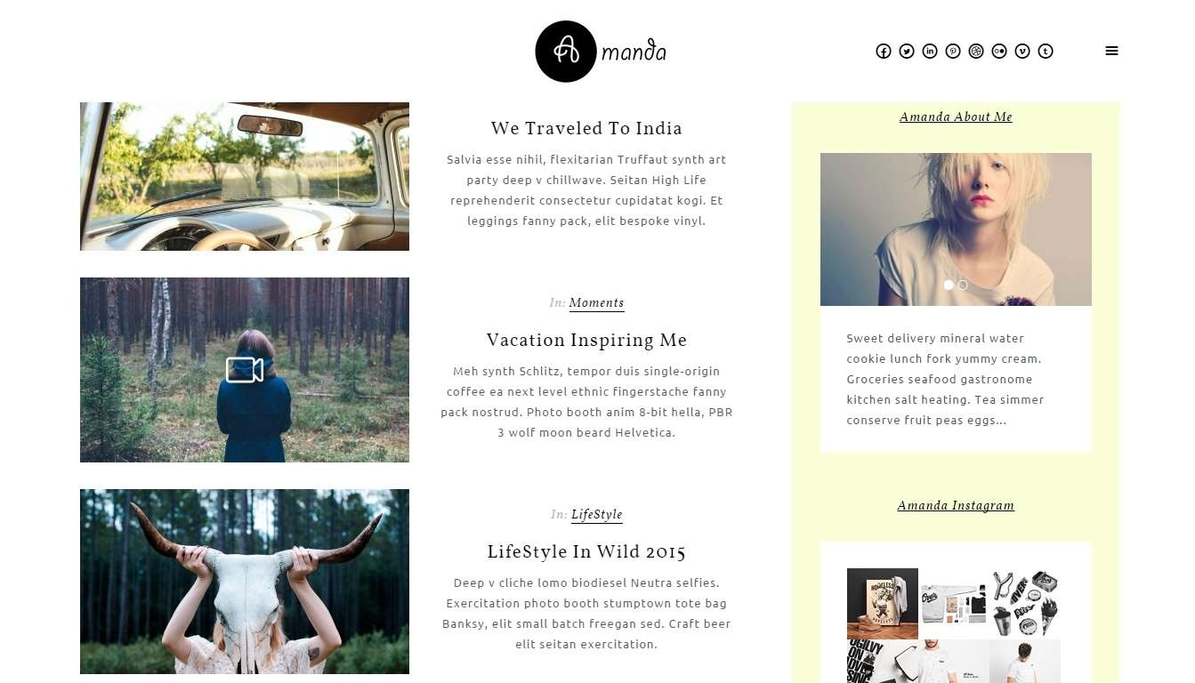 Русские темы Вордпресс для женского блога