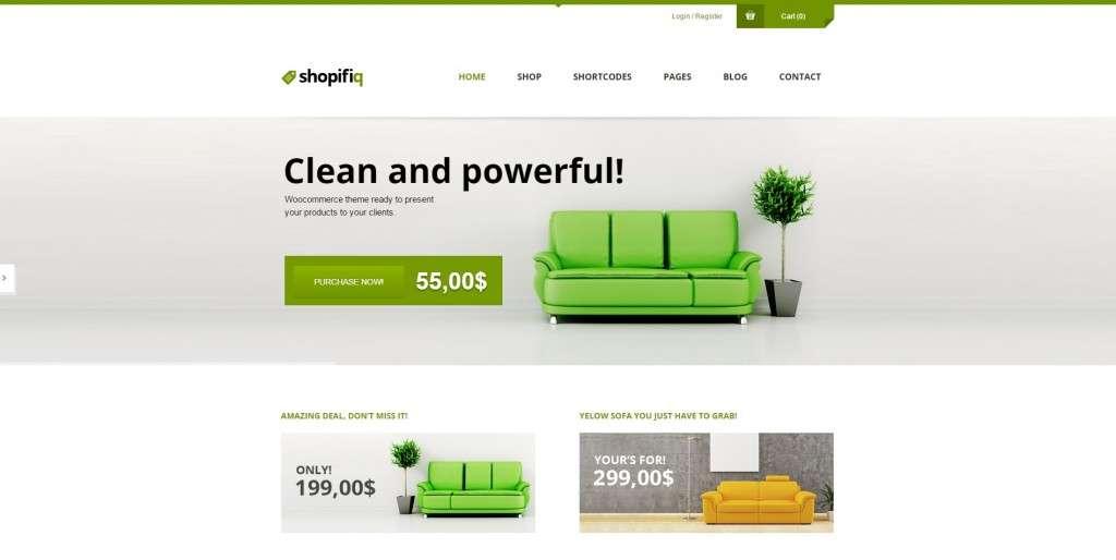 открой мебельный интернет магазин на Wordpress