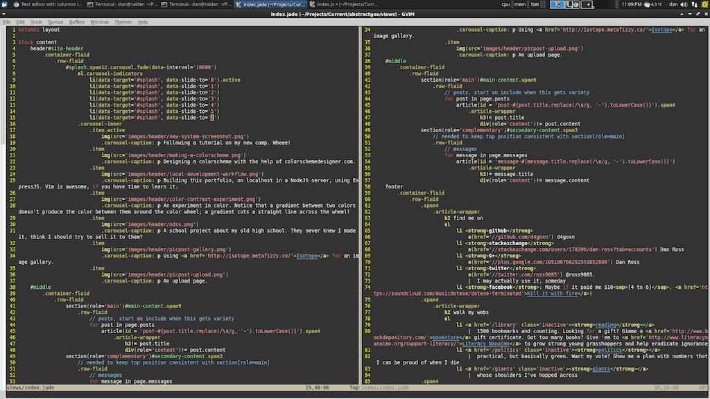 Редакторы кода для веб дизайнера