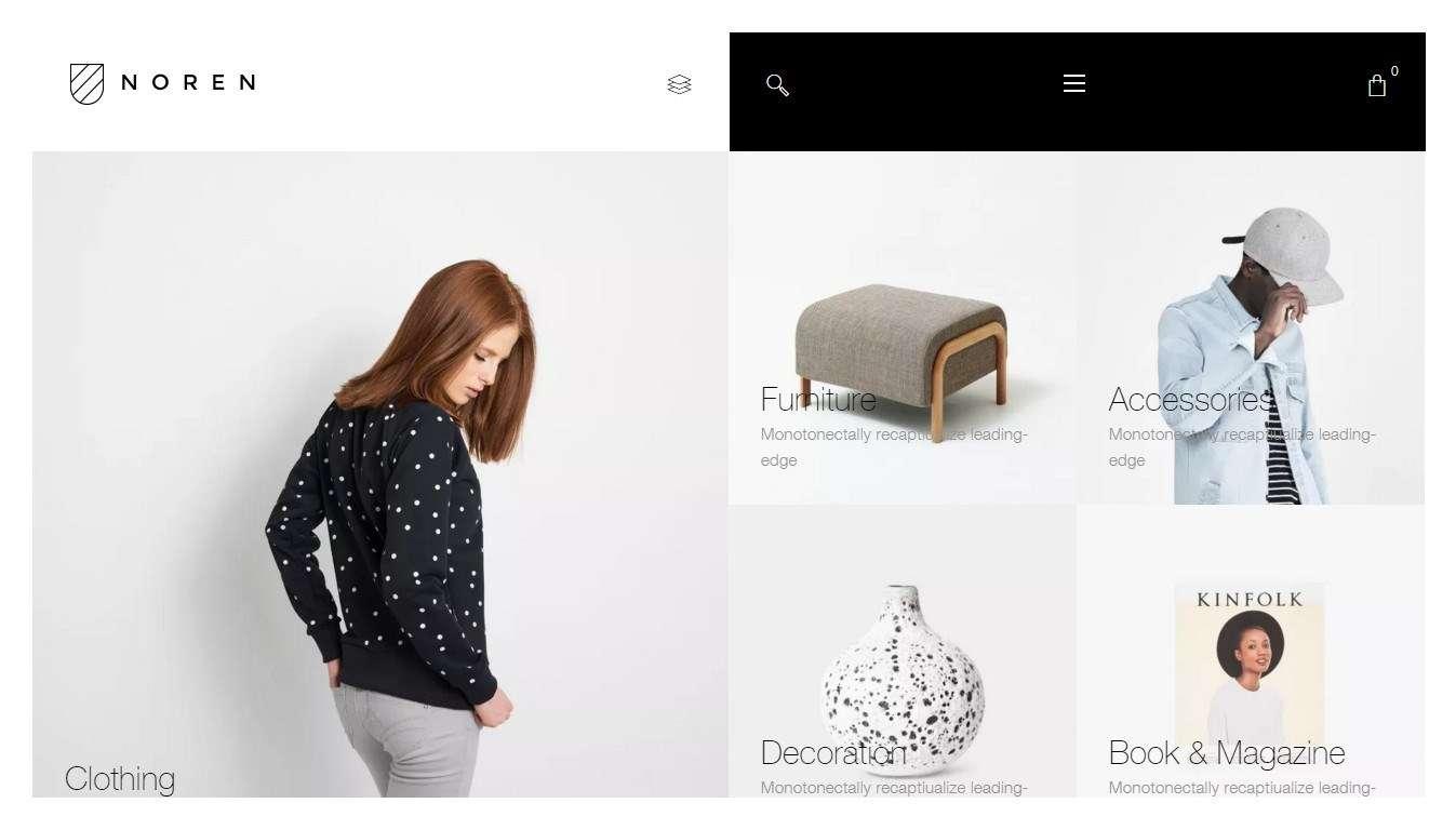 Красивые Woocommerce Шаблоны для интернет магазина