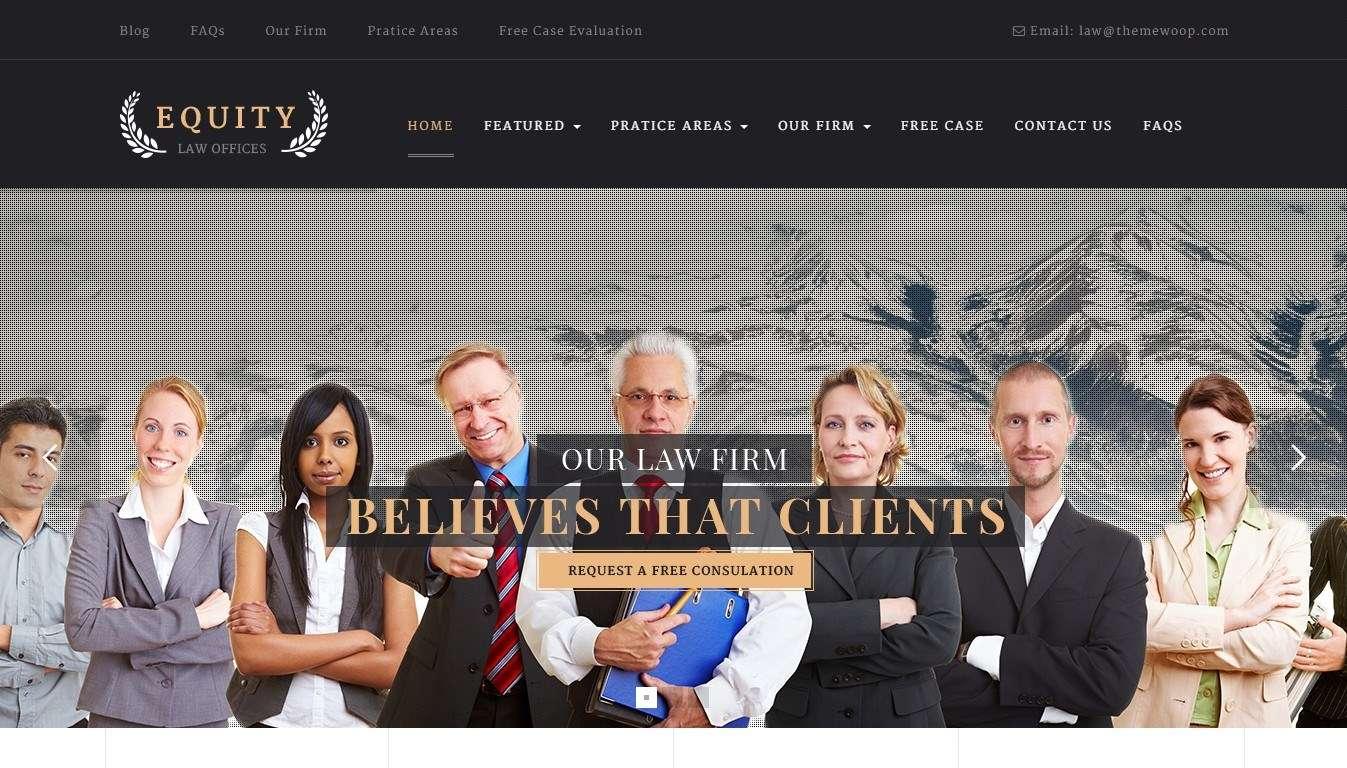 Шаблоны Сайта для юридической компании или фирмы