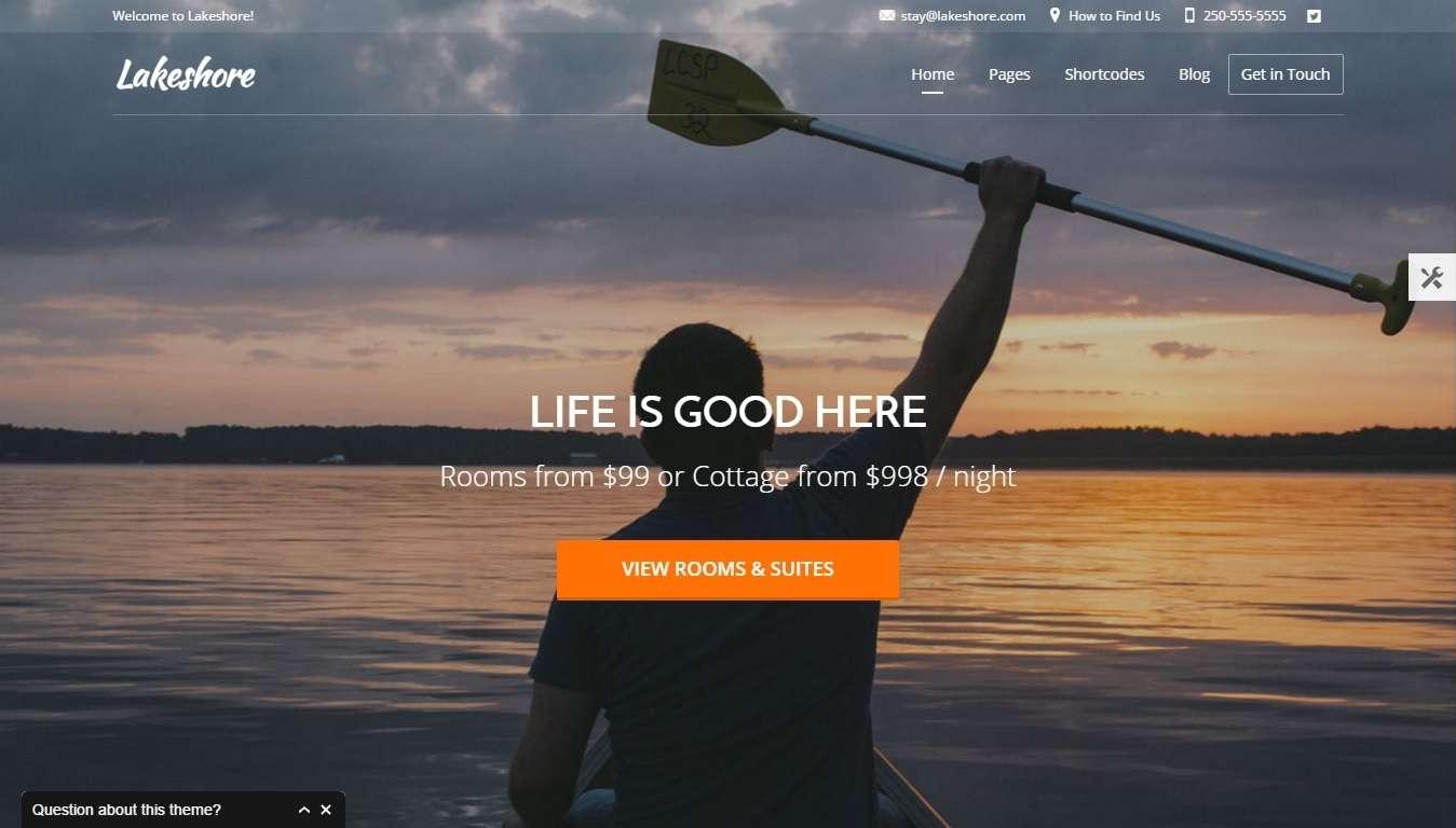 Wordpress шаблоны для гостиницы и отеля