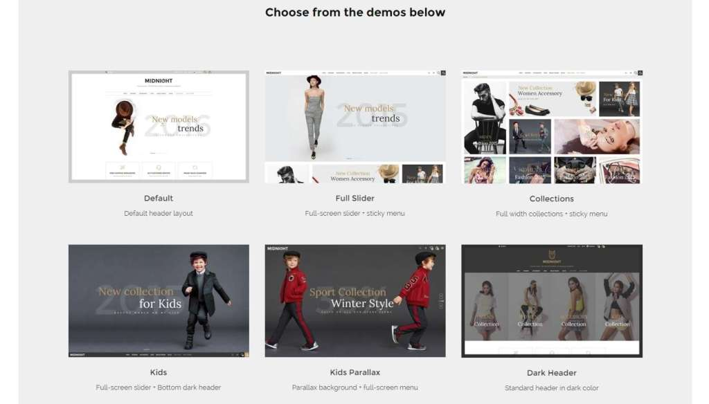 новые WordPress Woocommerce Themes