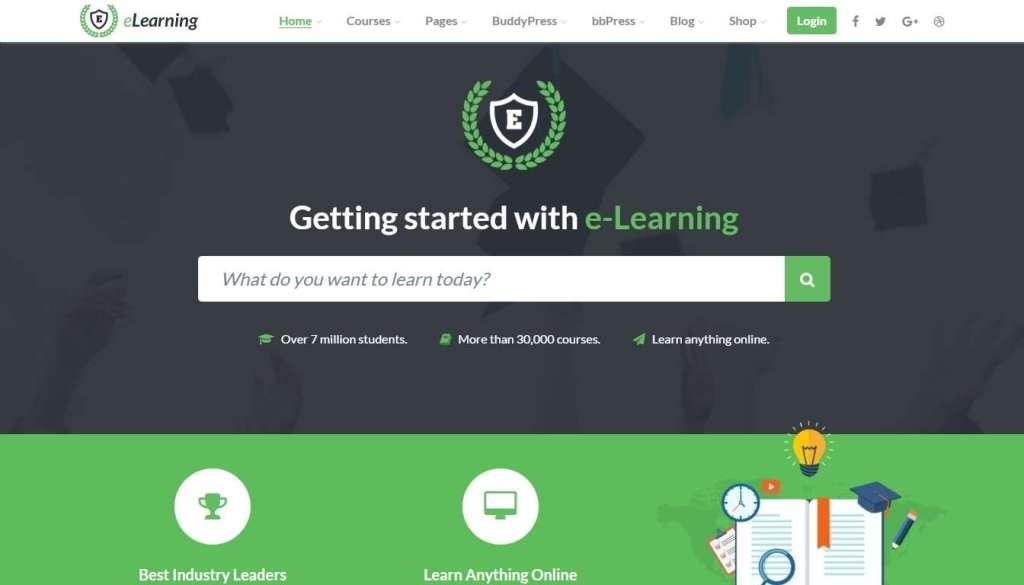 Образовательные шаблоны WordPress