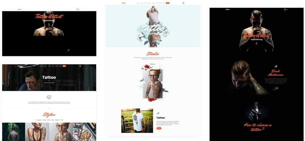 шаблон салона красоты WordPress для адаптивного сайта 14