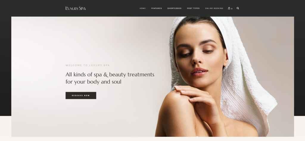 шаблон салона красоты WordPress для адаптивного сайта 23