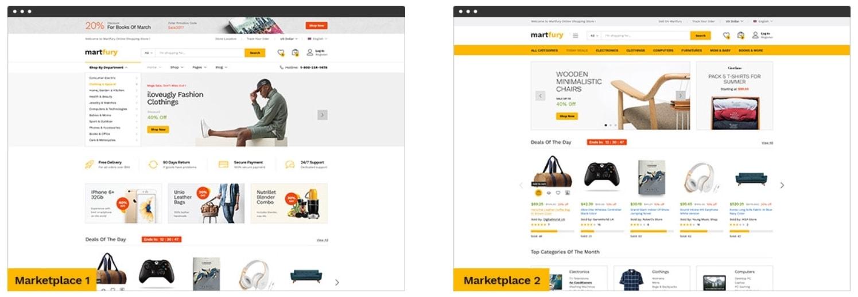 Готовые интернет магазины с поставщиками. Martfury – уникальная тема  торговой площадки на Вордпресс 635f7f8bed0