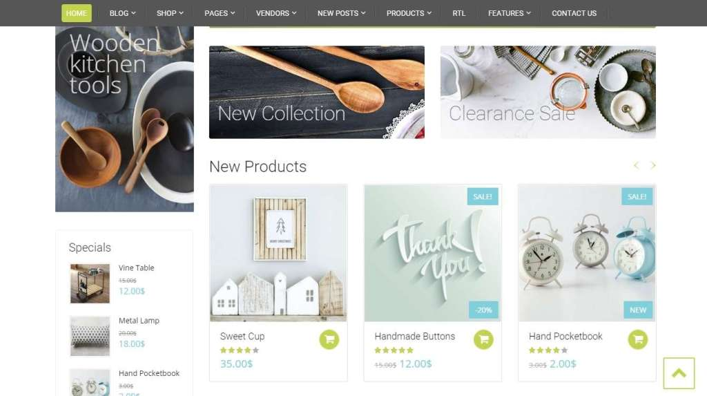 красивые WP e commerce шаблоны для интернет-магазина 2016