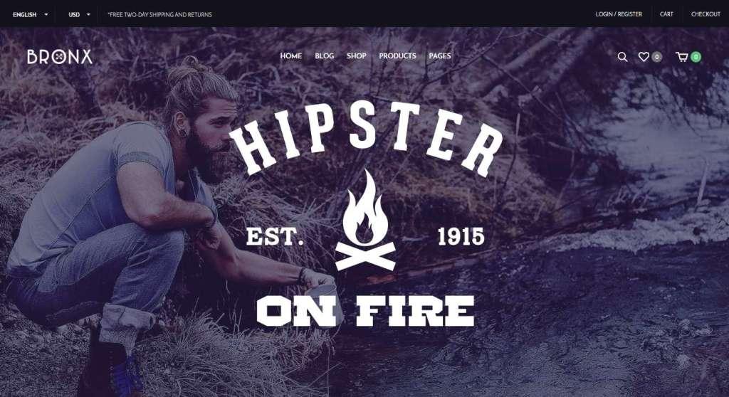 прекрасный готовый интернет магазин на WordPress 2016