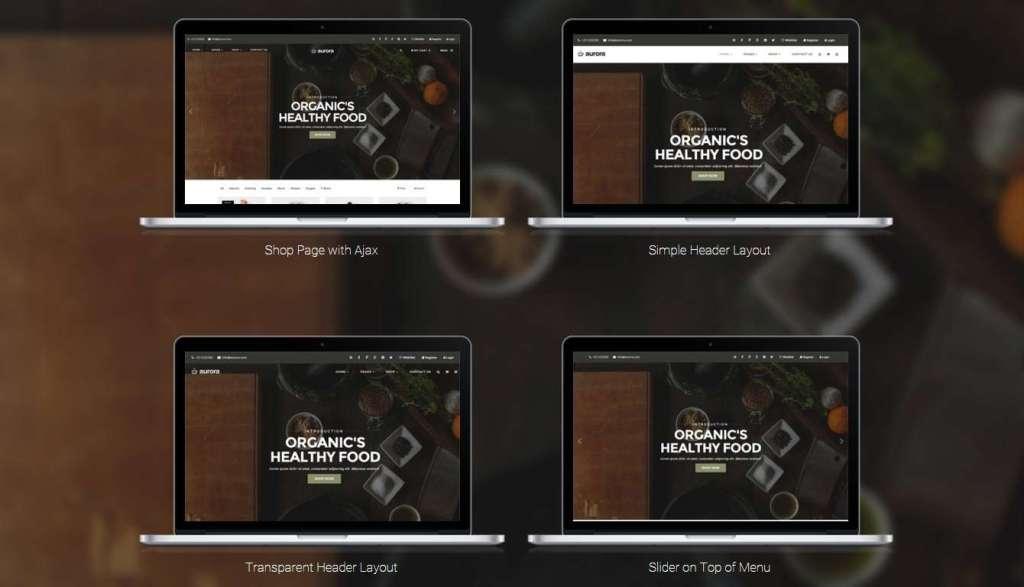 шикарная тема магазина для WordPress