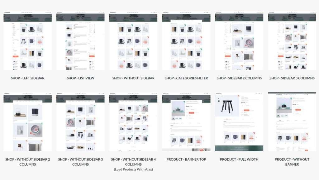 Wordpress Ecommerce 500 шаблонов для онлайн магазина