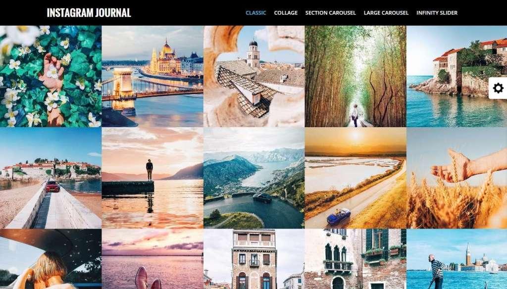 потрясающие WordPress Instagram шаблоны и плагины 2016