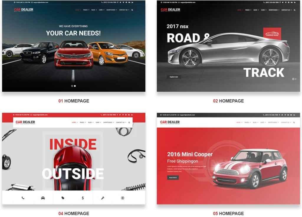 самые лучшие авто шаблоны WordPress для продажи авто, автомеханика и автомастерской 05