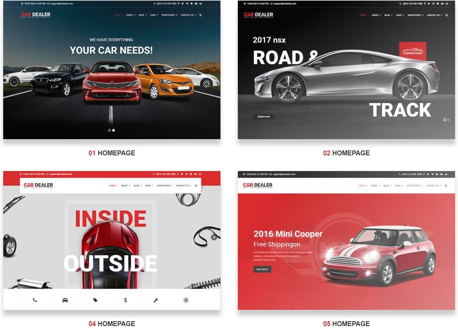 be3ab6383356 Car Dealer – автомобильный шаблон WordPress для продажи автомобилей и сайта  автосалона. самые лучшие авто шаблоны ...