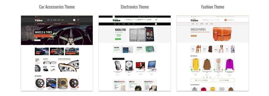 красивые темы Magento с премиум дизайном и функциями 2017