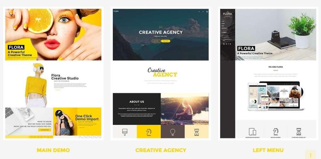 годные шаблоны фотограф для WordPress - премиум дизайн и функции 2017