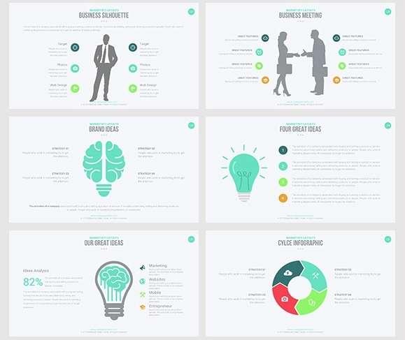 замечательные платные шаблоны PowerPoint для презентаций на высшем уровне
