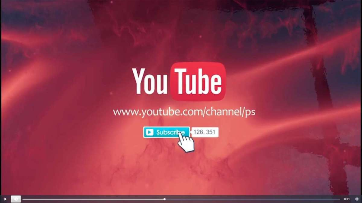 Готовые заставки для видео на YouTube 2017