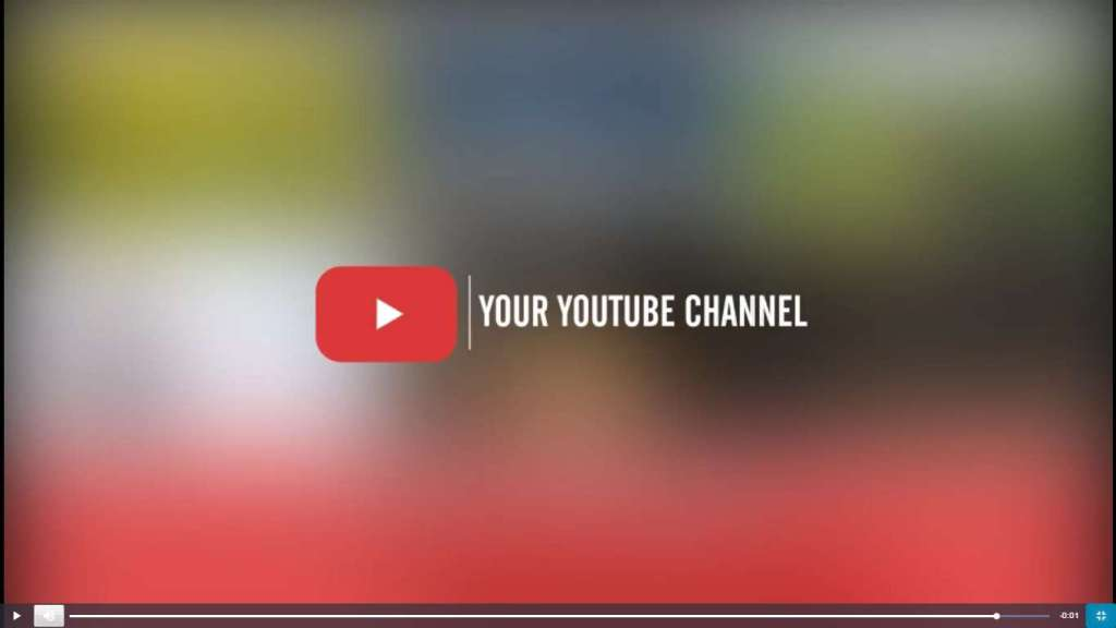 невероятные готовые заставки для видео на Youtube 2017