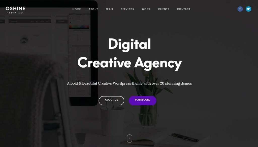 шаблон сайта рекламного агентства 2017 5
