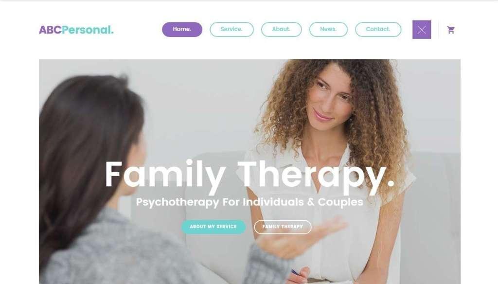 лучший шаблон сайта психолога и психиатра 2017 8