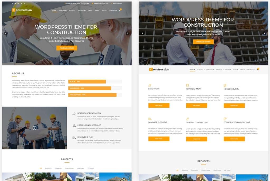 лучшие платные шаблоны сайтов - ТОП красивых сайтов на WordPress 06
