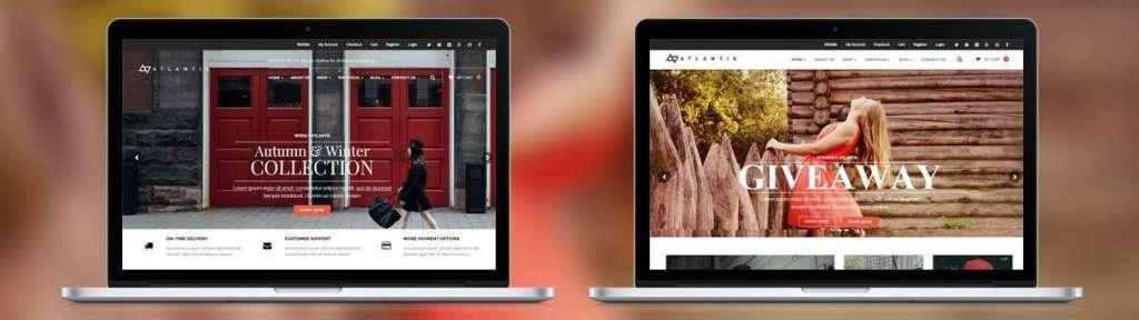 современные шаблоны WordPress для интернет магазина 7