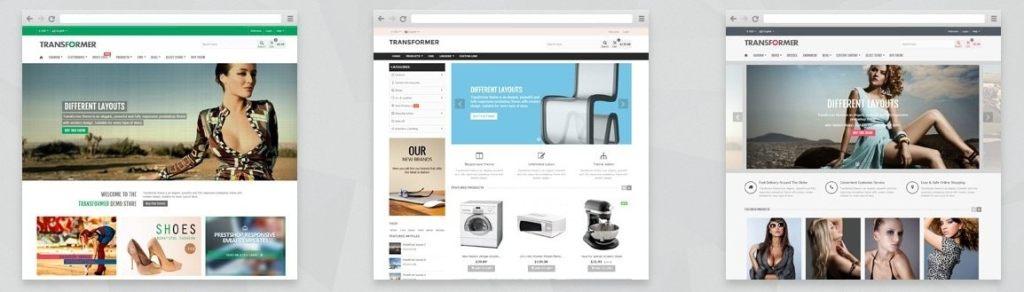 универсальные шаблоны качественных сайтов
