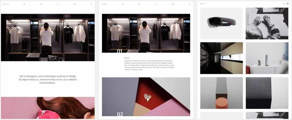 лучшие шаблоны WordPress для портфолио с образцами и красивыми галереями 11