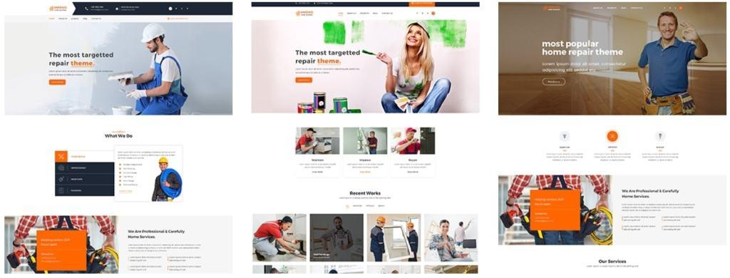 простые HTML шаблоны сайтов на русском для красивых и успешных сайтов 06