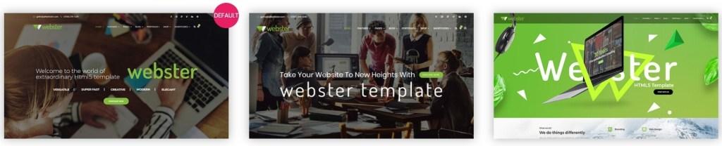 простые HTML шаблоны сайтов на русском для красивых и успешных сайтов 22