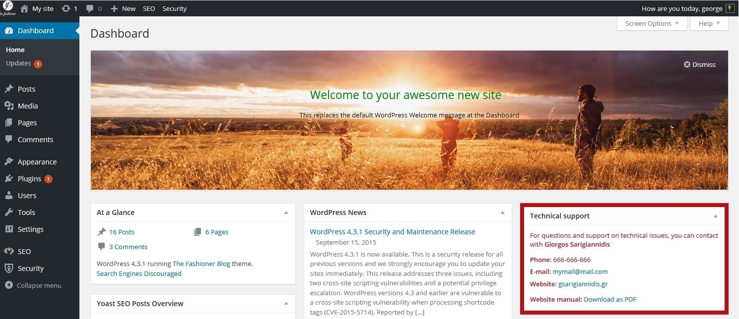 Админка WordPress ТОП 20 премиум и бесплатные шаблоны и плагины 2017 18