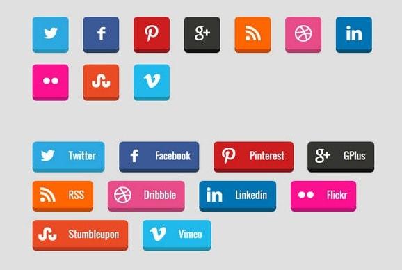 WooCommerce социальные кнопки для шэринга и скидок 1