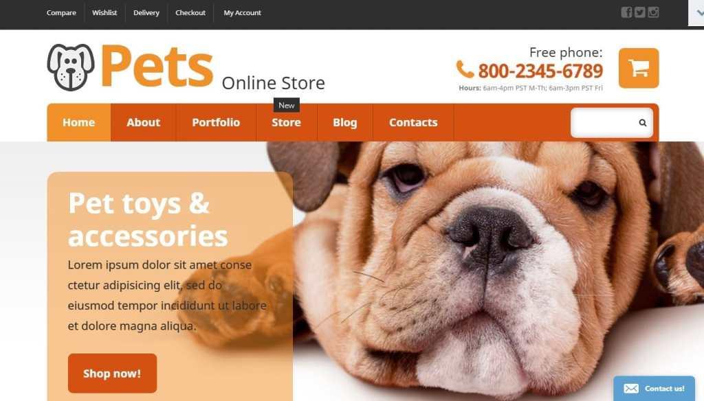 шаблоны зоомагазинов на WordPress: ваш бизнес в надежных руках 3
