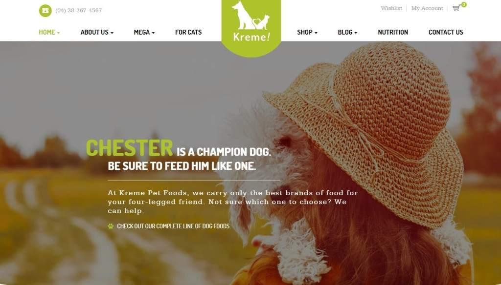 шаблоны зоомагазинов на WordPress: ваш бизнес в надежных руках 5