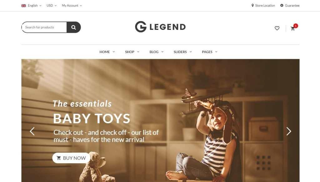 шаблон интернет магазина игрушек: быстрый старт в сфере eCommerce 3