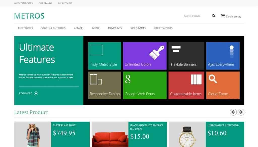 CS Cart шаблоны: создайте успешный магазин на современной CMS 4
