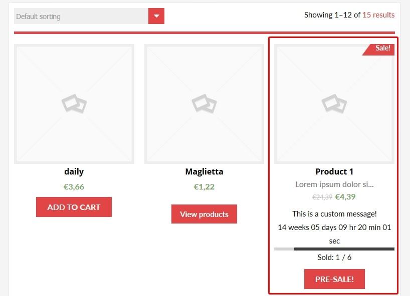 WooCommerce предзаказ: заинтересуйте покупателей новыми товарами 5