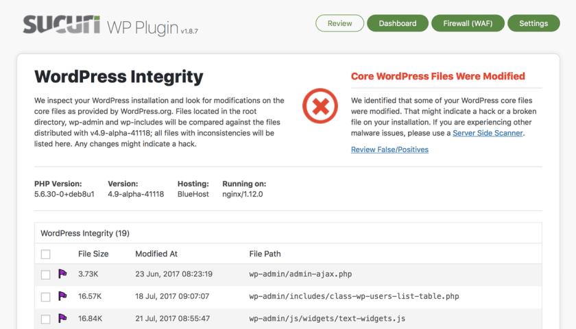 как найти вредоносный код на сайте WordPress – 8 способов 3