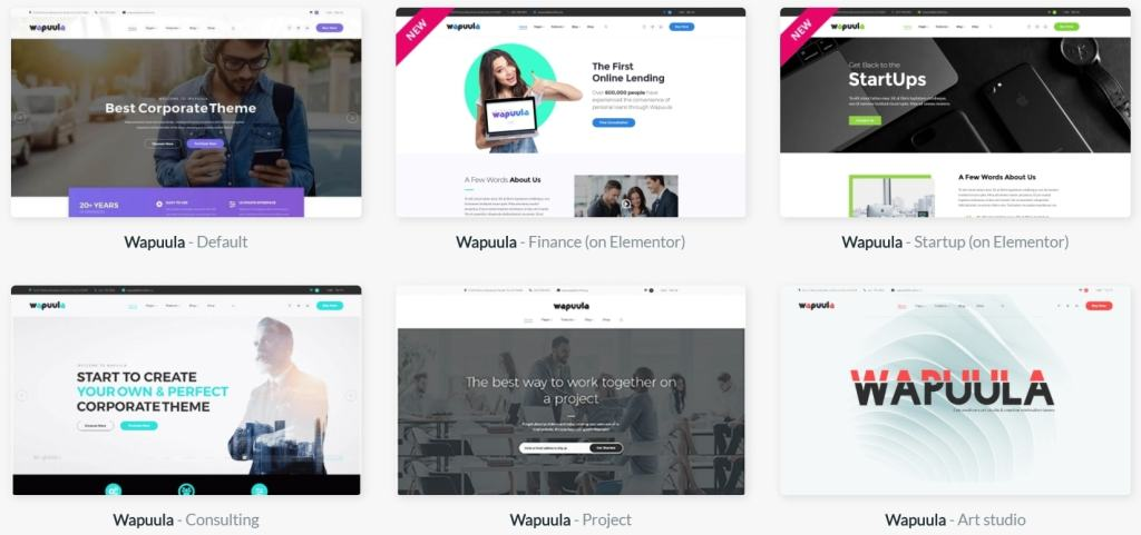 лучшие шаблоны веб сайтов с самым крутым и красивым дизайном 01