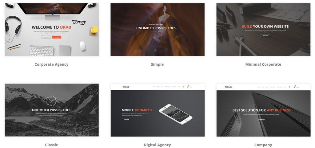 лучшие шаблоны веб сайтов 2018 с современным функционалом и дизайном 02