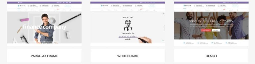 шаблон сайта деньги: сайты для консалтинга, бухгалтерии и аудита 4