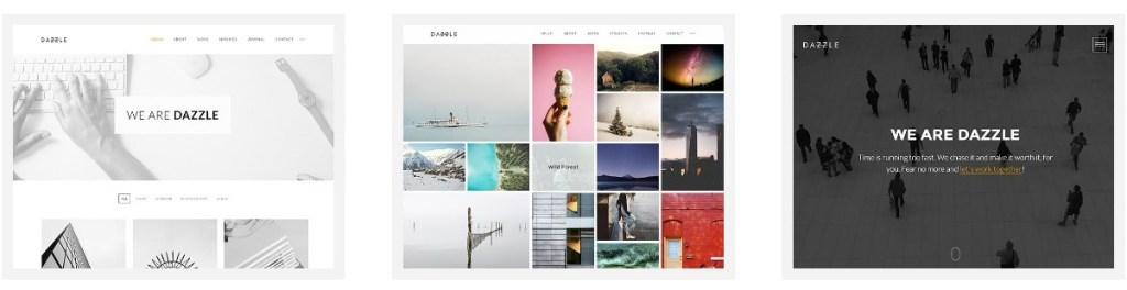 шаблон сайта для фрилансера со стильным дизайном и онлайн-оплатой 3