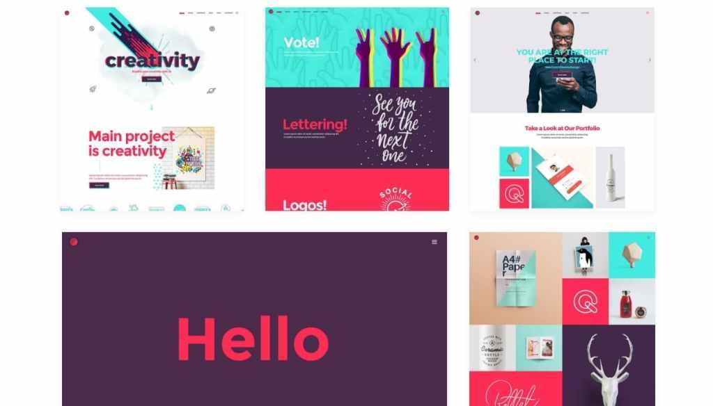 шаблон сайта для фрилансера со стильным дизайном и онлайн-оплатой 8
