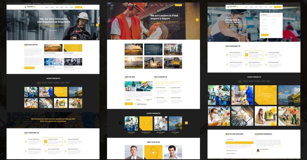 шаблон сайта онлайн для блога, бизнеса, портфолио, магазина и каталога 03